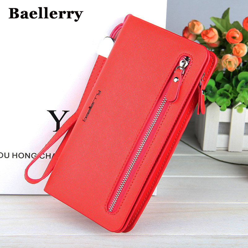 Fashion Women Wallet Zipper Top Quality Female Wallet Purse Multifunction Women's Purse Card Holder Money Bag Long Wallet