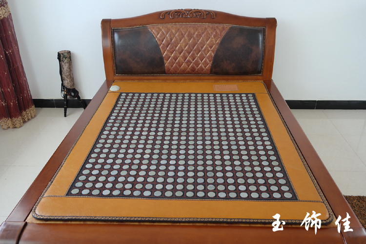 цены 2015 New Arrival for jade mattress jade health heated mattress jade heated carpet size 1.0X1.9M Free shipping