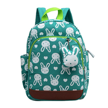лучшая цена High Quality New Rabbit Baby Backpack Cute Animals Anti-Lost School Bag for Toddlers Kids Girls Boys Age 1-6 Years Old 2019 New