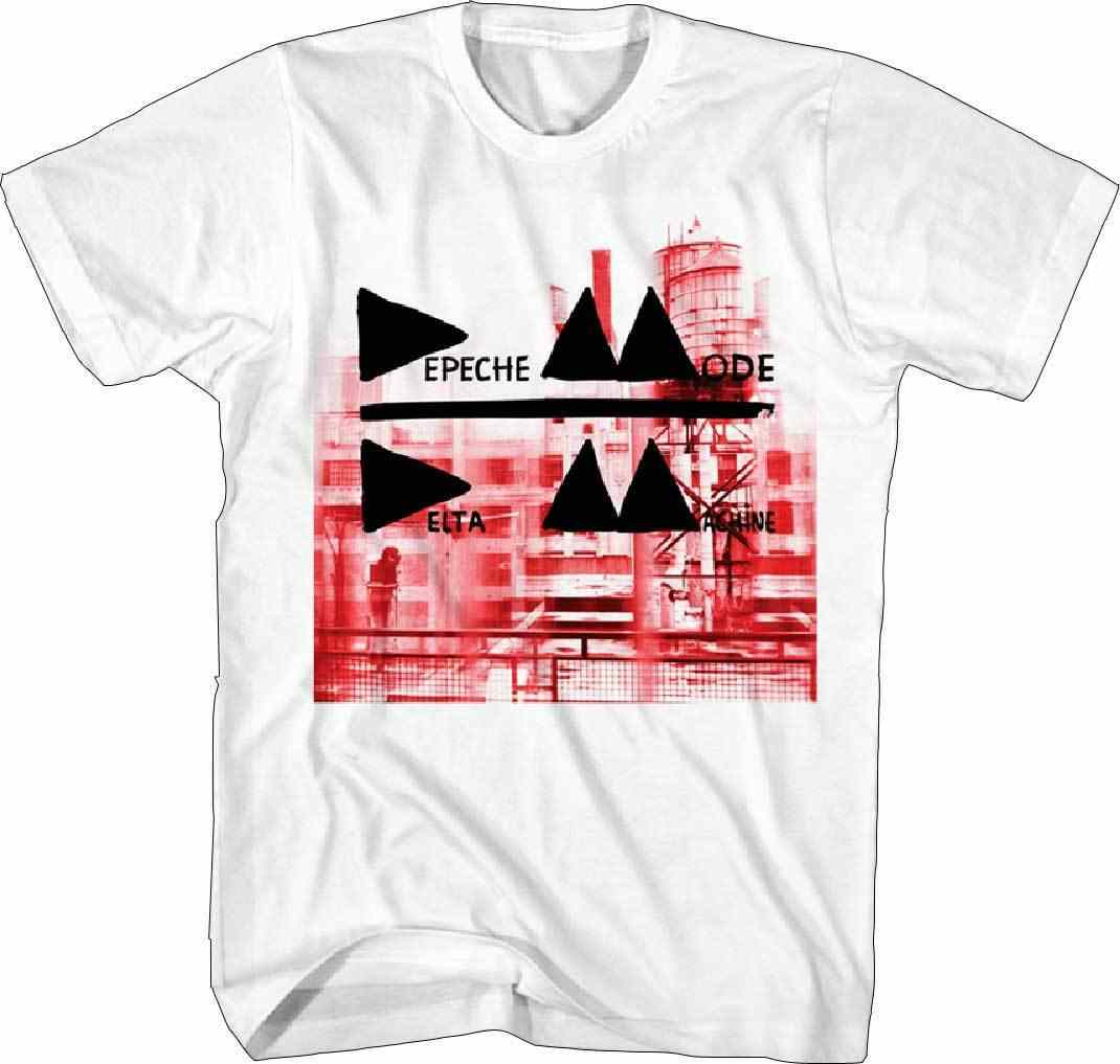 Depeche Shirt Mode Delta Machine S, M, L, XL, 2XL белая футболка