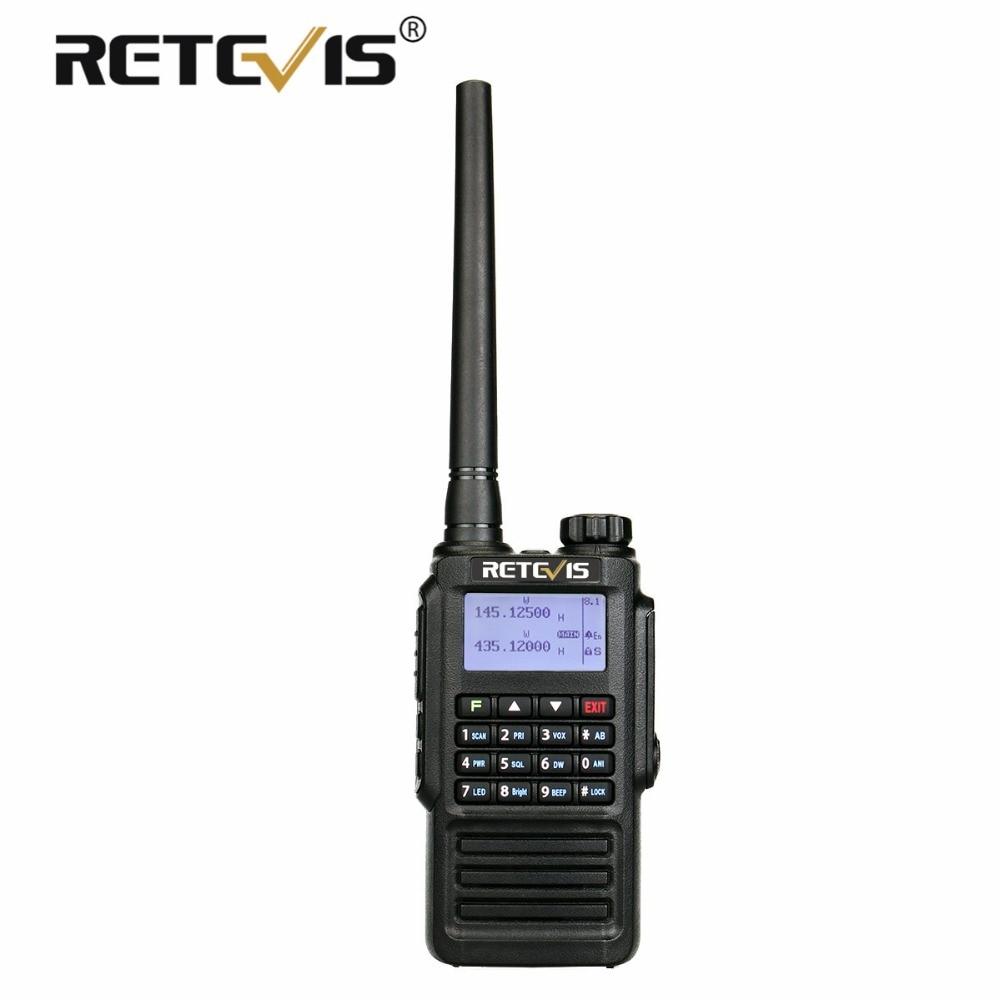 Retevis RT87 Dual Band CTCSS DCS VOX DTMF 128CH IP67 Waterproof 2Way Radio US