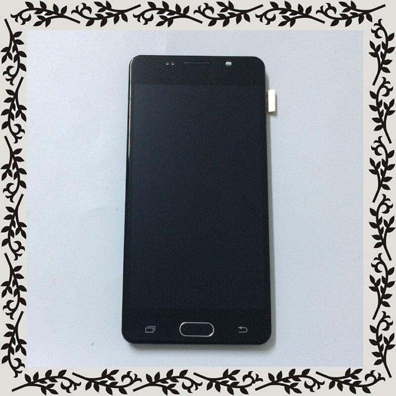 Rétro-éclairage Réglable Pour Samsung Galaxy A5 2016 A510 A510F A510M A510FD LCD Display + Écran Tactile Digitizer Assemblée avec Cadre