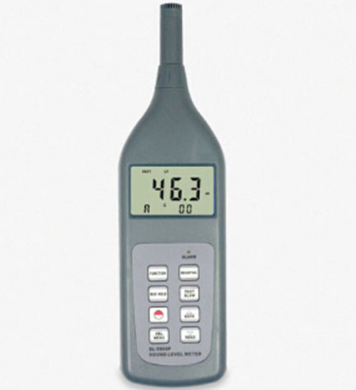 Sound Level Meter SL-5868P Digital Noise Meter Decibel Monitor Tester Self Calibration with Software and Cable for RS232C gm1356 digital sound level decibel meter usb noise tester with analysis software automatic backlight