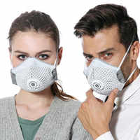 Pro Anti Dust Mask Activated Charcoal Anti-formaldehyde PM2.5 Anti-fog & Haze Dust-proof Anti-bacteria Industrial & Life Use
