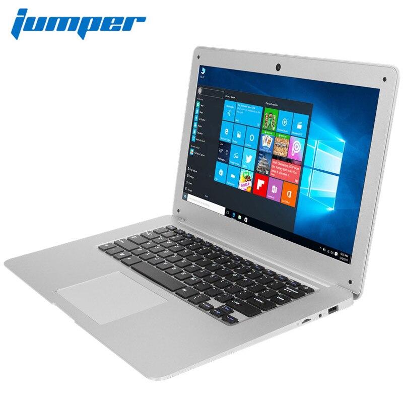 Ordinateur portable 14.1 ''Win10 ordinateur portable 1080 P FHD Intel Cherry Trail Z8350 4 GB 64 GB ultrabook Jumper EZbook 2 ordinateur portable computador