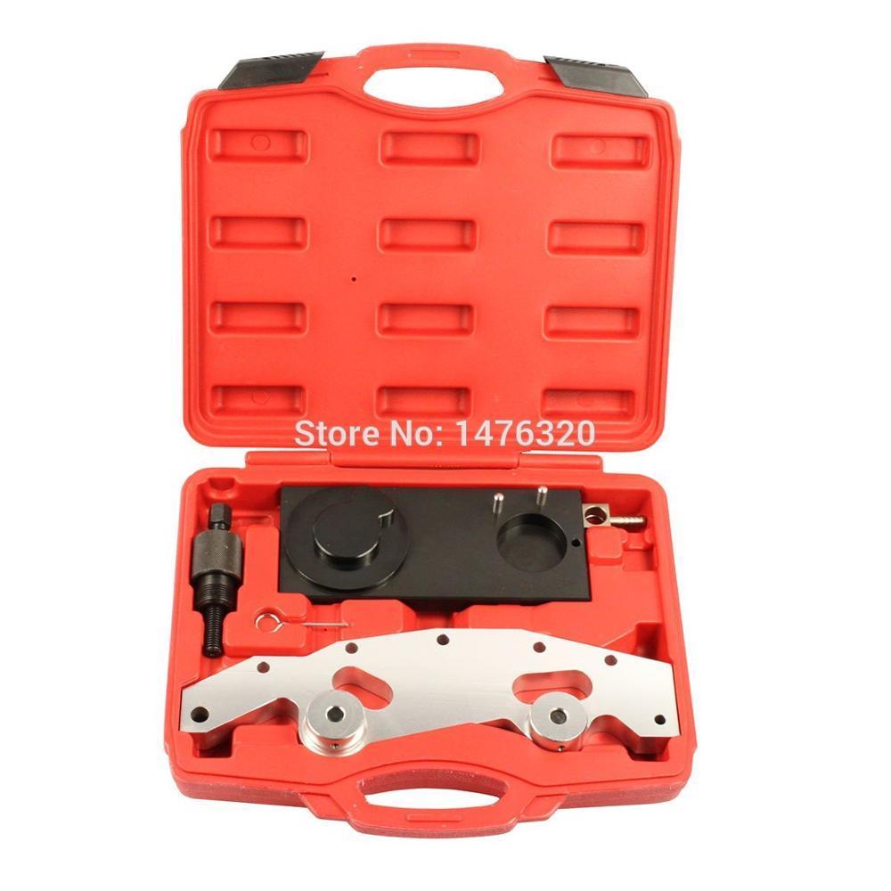 Jeu d'outils de réglage d'arbre à cames de vilebrequin de distribution de moteur de voiture pour BMW M52TU M54 M56 AT2074