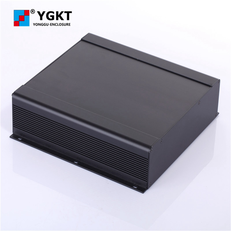 250-73.5-250 mm (W-H-L)aluminum electronic pcb enclosures/China electronics anodized extruded aluminum heatsink enclosure 1 piece free shipping aluminum enclosure project box extruded aluminum enclosures 46 h x66 w x100 l mm