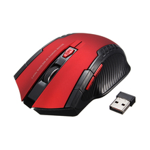 Promotion 2 4Ghz Mini Portable Wireless Mouse USB Optical 2000DPI Adjustable Professional Gamer Gaming Mause Mice