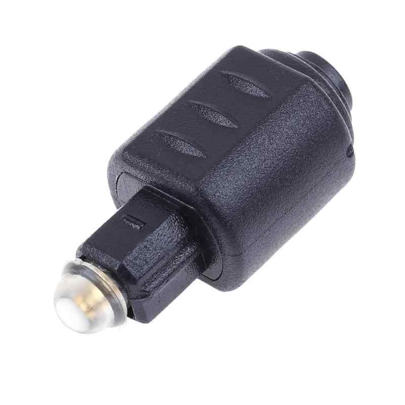 Toslink – adaptateur optique Toslink mâle vers Mini 3.5mm, connecteur adaptateur Fiber optique pour Audio stéréo DTS