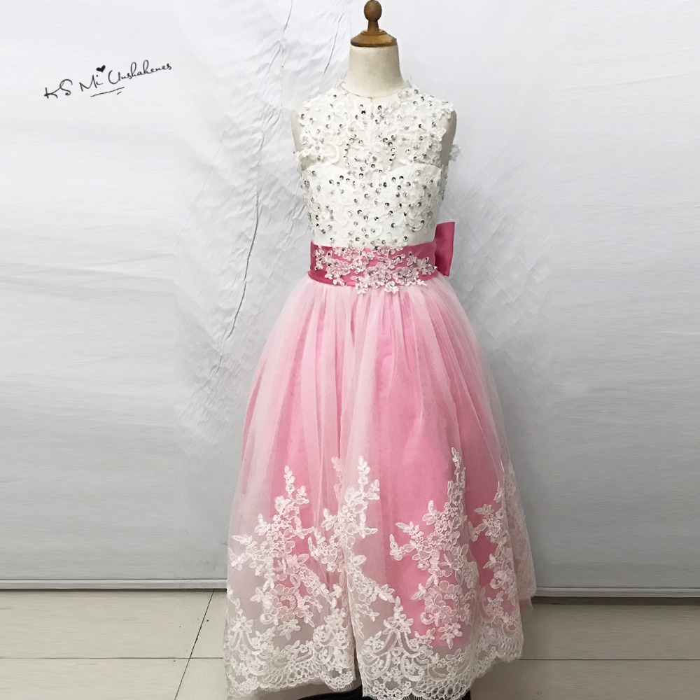 №Vestidos de primera comunion Rosa madre hija vestidos Vestidos para ...