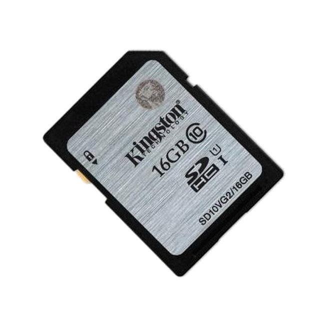 Original Kingston SD Card 16GB  Flash Memory Cards Digital SD Memory Card