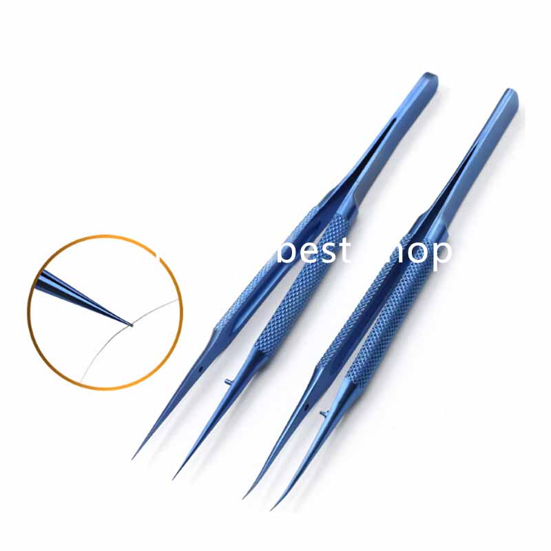 Microscopic Instruments Titanium Alloy Micro Scissors, Conjunctiva Toothed, Forceps Probes,Hooks ,Spatulas, Speculums Tweezers