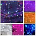 multi- cor tira led string natal festival decoração do casamento luzes borboleta 3.5m 100 smd 110v/220v ue/us/uk/au
