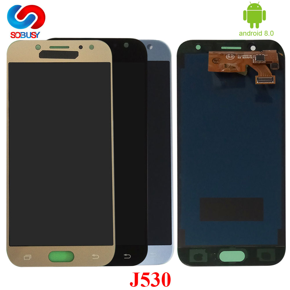 530 <font><b>lcd</b></font> j530f <font><b>lcd</b></font> Für <font><b>SAMSUNG</b></font> <font><b>Galaxy</b></font> J5 Pro 2017 <font><b>J530</b></font> SM-J530F <font><b>LCD</b></font> Display Touch Screen Panel Pantalla Digitizer Montage image