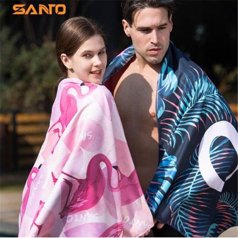Esportes ao ar Toalha de Banho para Mulheres dos Homens-secagem Toalha de Praia Livre Toalha Santo cm Super Refrigeração Rápida H-09 160×80