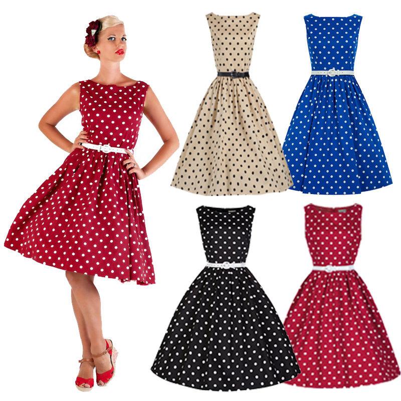 50s style a line dress