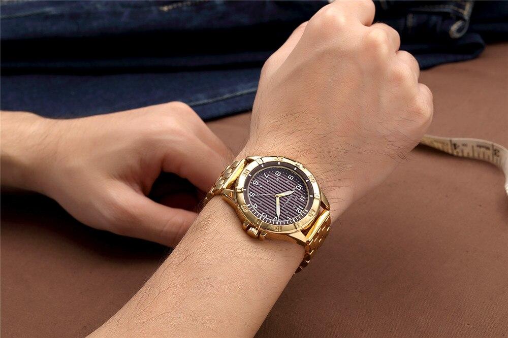 Hoogwaardige heren quartz-horloge luxe merk herenhorloge waterdichte - Herenhorloges - Foto 5