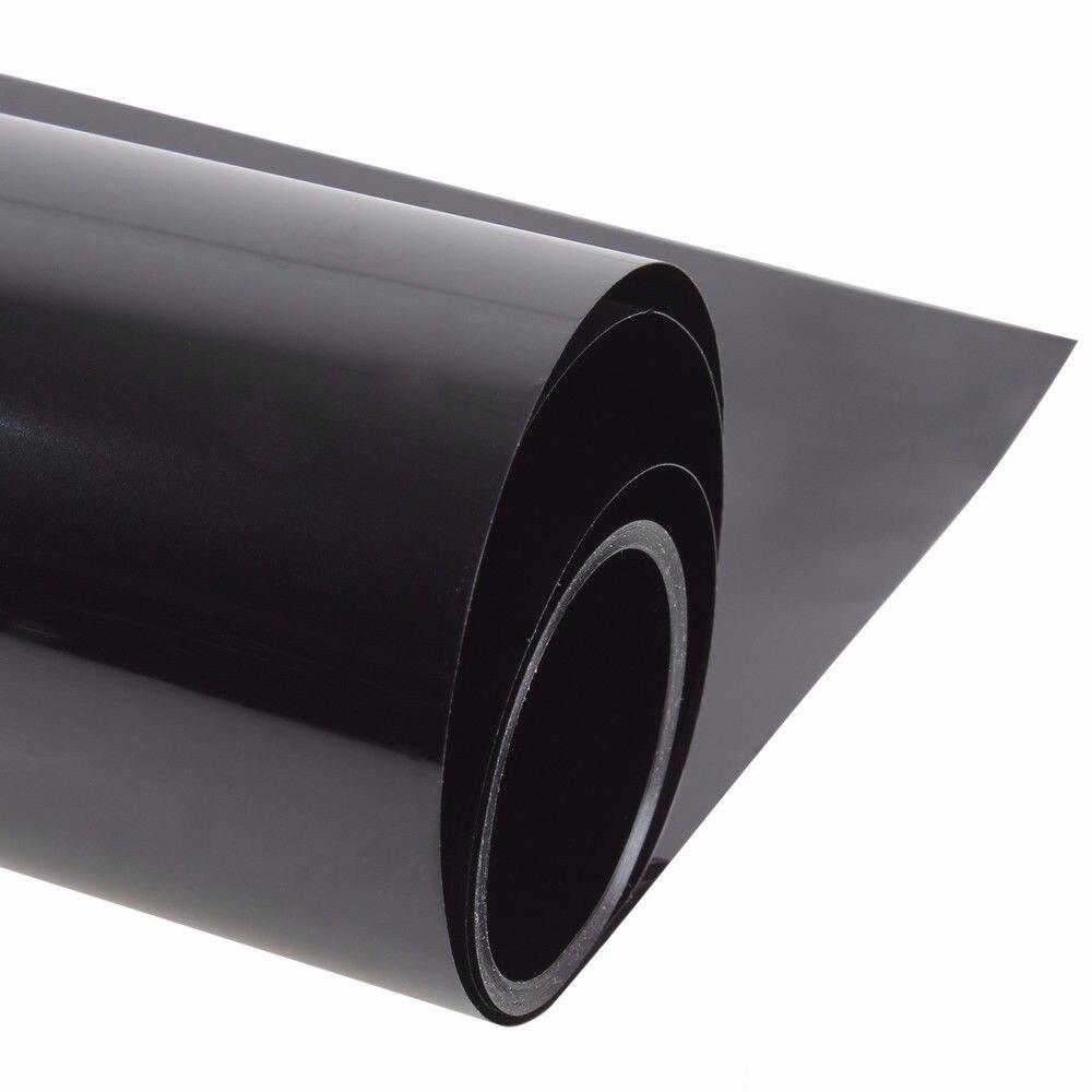 100% Film céramique Nano résistant aux UV réduction de chaleur VLT5 % feuilles de véhicule de voiture pour vitre latérale/arrière de voiture 59.84