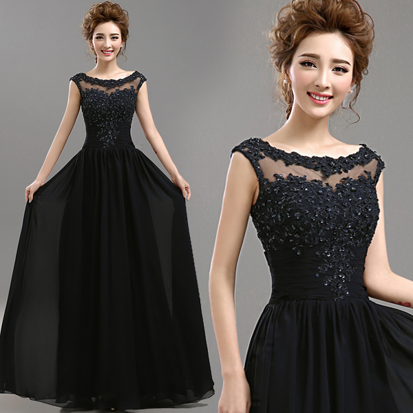 71e093090ac s 2016 new arrival stock maternity plus size bridal gown evening dress  black Blue Backless long lace bling sexy 499