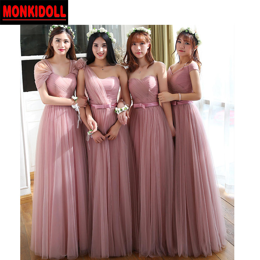 Beautiful Dusty Pink Bridesmaid Dresses Collection - Wedding Dress ...