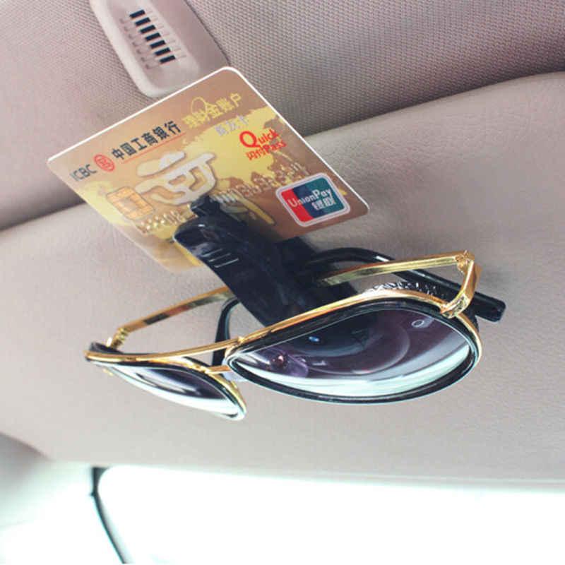 Auto gafas de sol Clip para Audi A1 A3 A4 B6 B8 B9 A3 A5 A6 A7 A8 C5 Q7 Q3 Q5 Q5L SQ5 R8 TT S5 S6 S7 S8