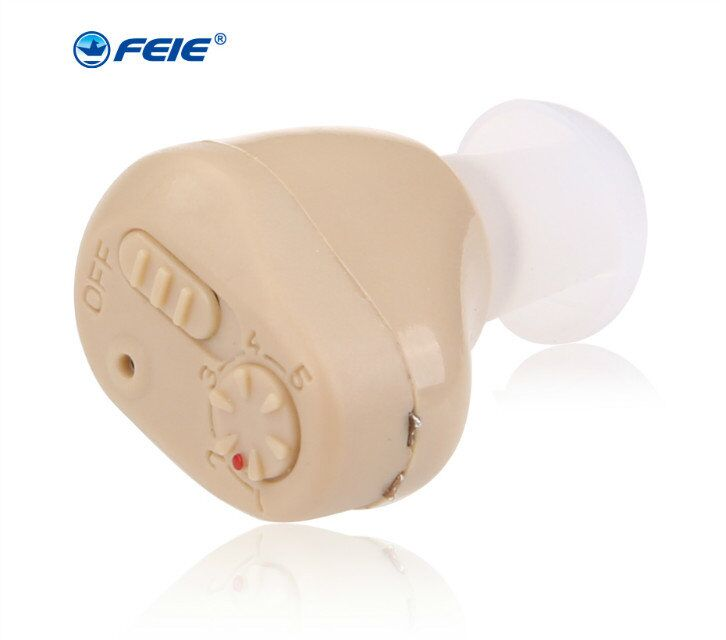 2018NEW!!GN Resound ITE Digital Hearing Aid Easy to Use Moderate Severe Loss Mini Hearing Aids Sound Amplifiers S 219