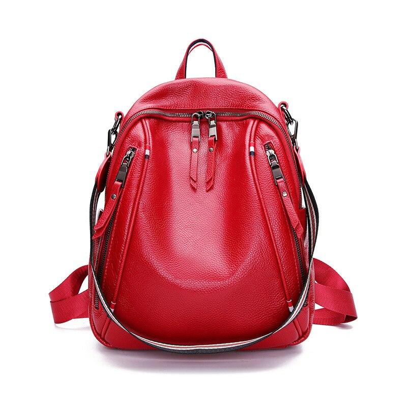JIULIN New Backpack Travel Bags School Bag Trend Vintage Waterproof Casual Women in Backpacks from Luggage Bags