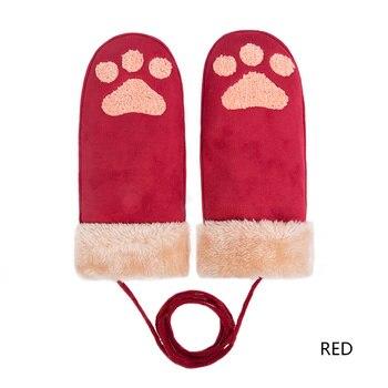 Παιδικά γάντια με σχέδιο πάτημα γάτας Παιδικά Ρούχα Ρούχα MSOW