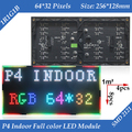 Wholesale 20pcs/lot 256*128mm 64*32 pixels 1/16 Scan Indoor 3in1 SMD RGB full color P4 led display screen module