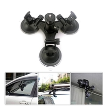 OOTDTY Camera Accessories Triple Suction Cup Mount Low Angle Sucker Holder for Gopro Hero 2 3 3+ 4 Camera Dropshipping