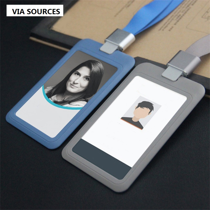 5 Pcs/lot Cover Card,ID Holder,Work Card,identification Tag,position Lanyard Badge Student Transit Gifts For Colleagues