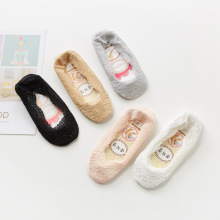 2019 New Fashion Sock Slippers Women Summer Cotton Lace Antiskid Invisible Liner Low Cut Harajuku Socks