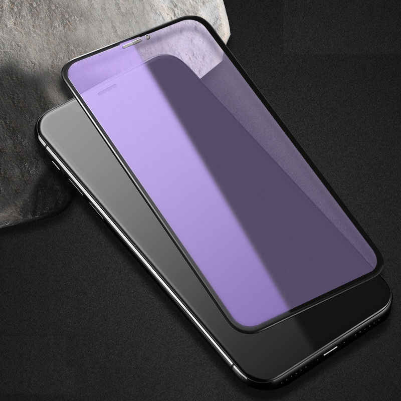 JINYANG Protection 50 PCS Non-Full Matte Frosted Tempered Glass Film for iPhone X//XS//for iPhone 11 Pro No Retail Package