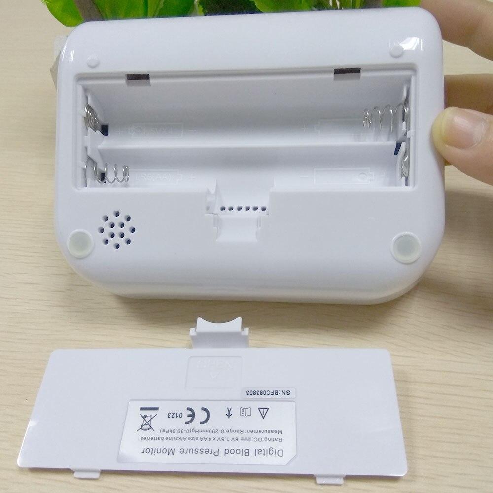 Arm Blood Pressure Pulse Monitor Health Monitors care Digital Upper Portable meter sphygmomanometer pulsometro tonometer (6)
