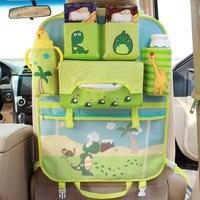Cartoon Multifunctional Waterproof Baby Stroller Bag Baby Universal Hanging Basket Car Seat Storage Bag Stroller Accessories
