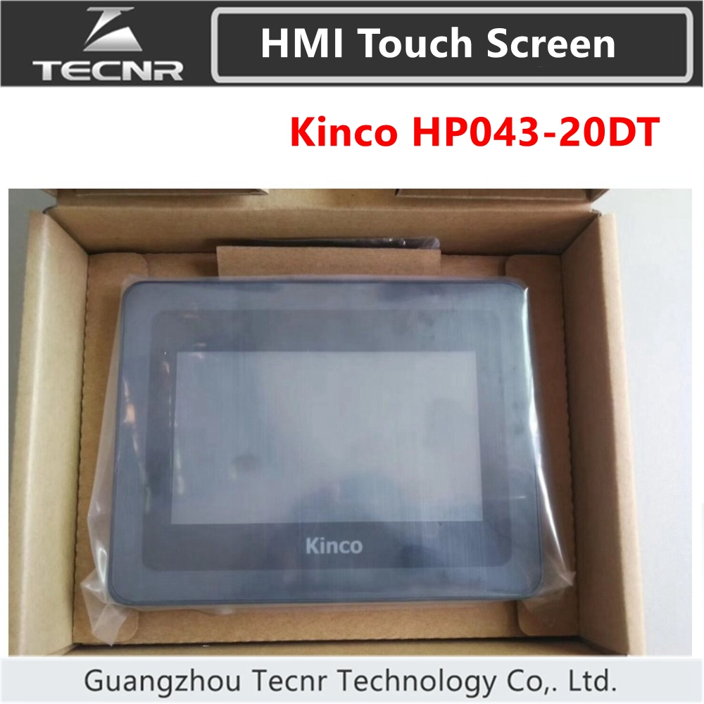 Kinco HP043-20DT PLC Programmable Controller HMI Touch Screen 4.3 Inch Human Machine Interface