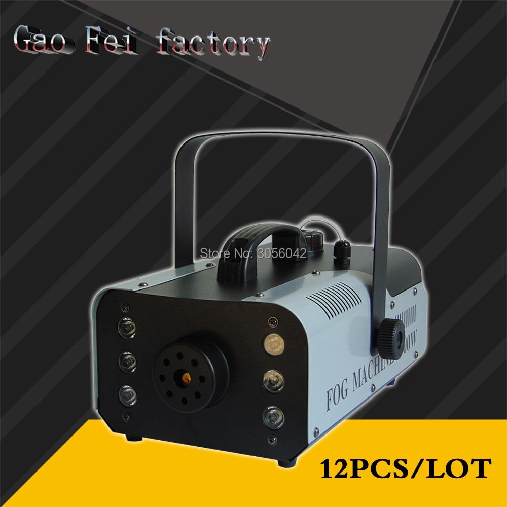 Здесь можно купить  12pcs/lot led 900W RGB Wireless remote control fog machine pump dj disco stage  Свет и освещение