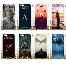 TPU Pattern New Game Of Throne House Stark Lannister For Xiaomi Redmi 5 4A 3 3S Pro Mi4 Mi