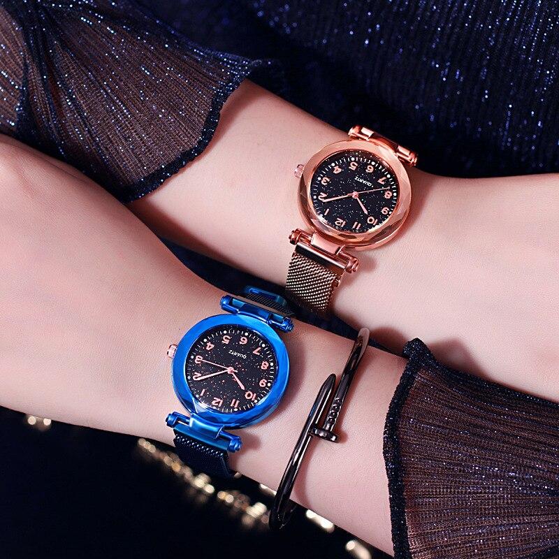 JBRL Watch Women Watches Ladies Fashion Magnet Strap Wrist Clock Retro Female Bracelet Quartz Watch Gift For Girls Reloj Mujer