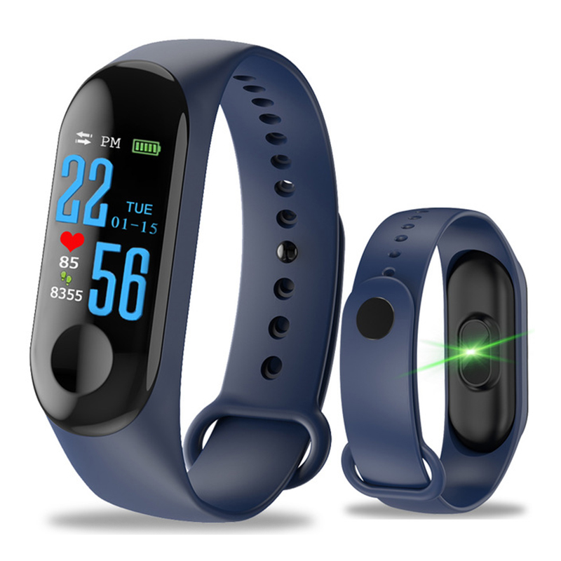 Pedometer Counting-Tracker Screen-Fitness Calorie Sports Smart-Band Running Waterproof