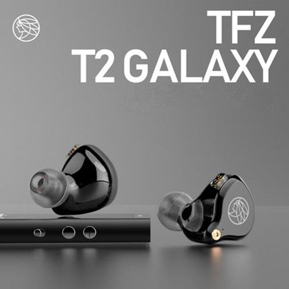 NEW 2019 The Fragrant Zither TFZ T2 in Ear Monitor Earphone Music HIFI Hanging Ear Earphones