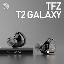 Новинка 2019, наушники вкладыши с ароматизацией цитра TFZ T2, Hi Fi наушники вкладыши с подвесным креплением