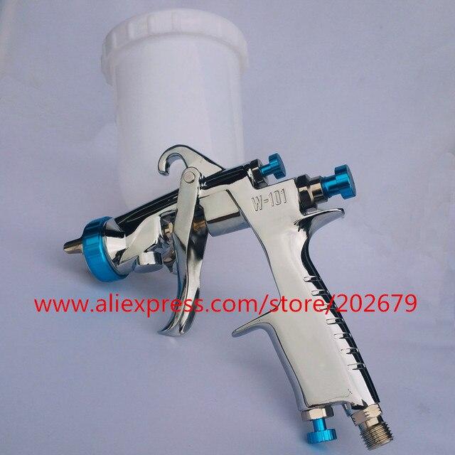 プラスチック/金属カップスプレーガンW 101 空気スプレー手動スプレーガン、 1.0/1.3/1.5/1.8 ミリメートル日本品質、W101 噴霧器エアスプレーガン