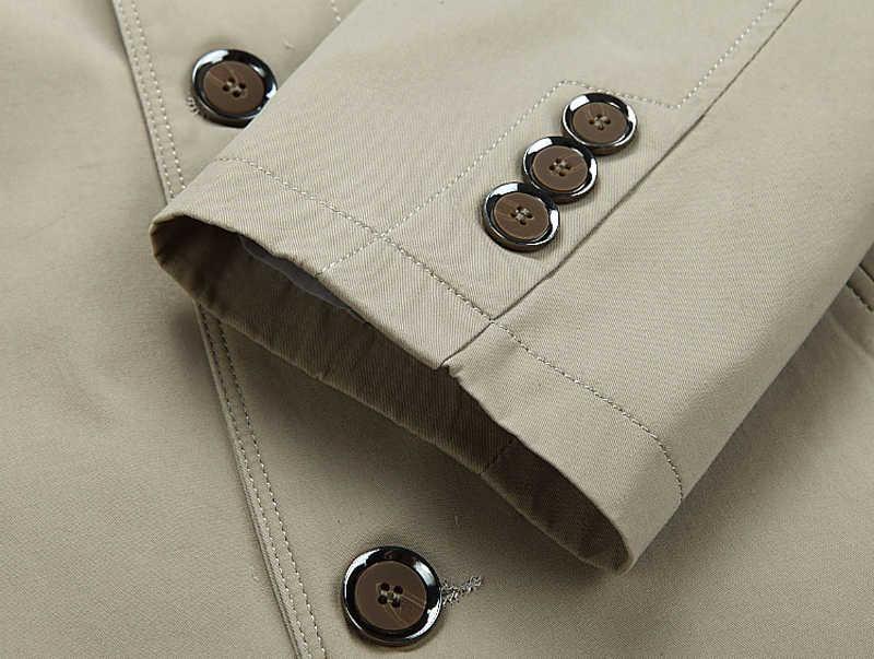 bdb2bb3338e ... Mu Yuan Yang 2018 Spring New Men Jacket Business Casual Turn-down  Collar Single Breasted ...