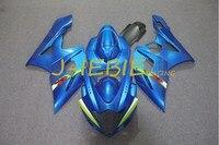 Blue Injection Fairing Body Work Frame Kit for SUZUKI GSXR 1000 GSXR1000 K5 2005 2006