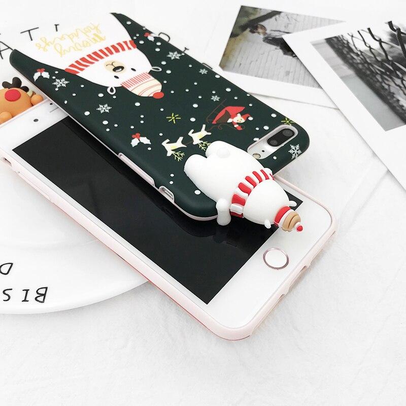 HTB1sXtUXPgy uJjSZKPq6yGlFXad - Christmas Gift Phone Case For iPhone 6 6S 7 8 Plus Cartoon Christmas Deer & Snowman Soft TPU Phone Back Cover Cases PTC 284