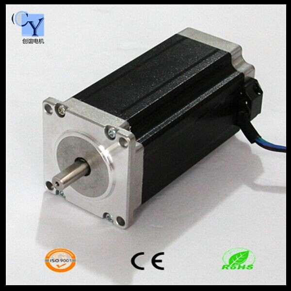 High torque 60mm nema 24 stepper motor 4a 4 leads 3 8nm for 24 volt servo motor