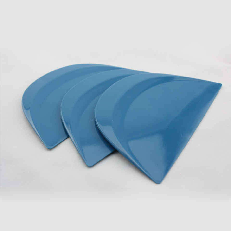 Image 2 - 13*8cm Semicircle Abrasion Resistant Little Foots Blue Hard Cards Squeegee For Car Tuning MO 161-in Car Stickers from Automobiles & Motorcycles