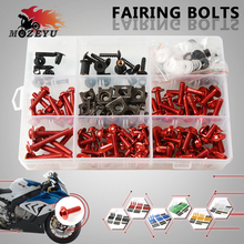 купить Motorbike Fairing Screws Spire Speed Fastener Clips Screw Spring Bolts Nuts For Yamaha XMAX X-MAX X MAX 125 200 250 300 400 недорого