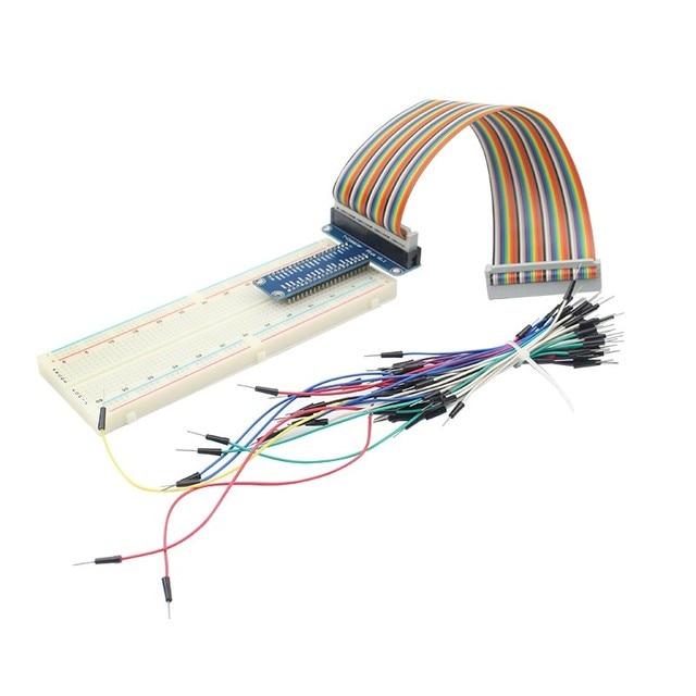 102 solderless prototype bread board 40 pin gpio board gpio dupont rh aliexpress com Circuit Board Schematics flexible printed wiring board 中文